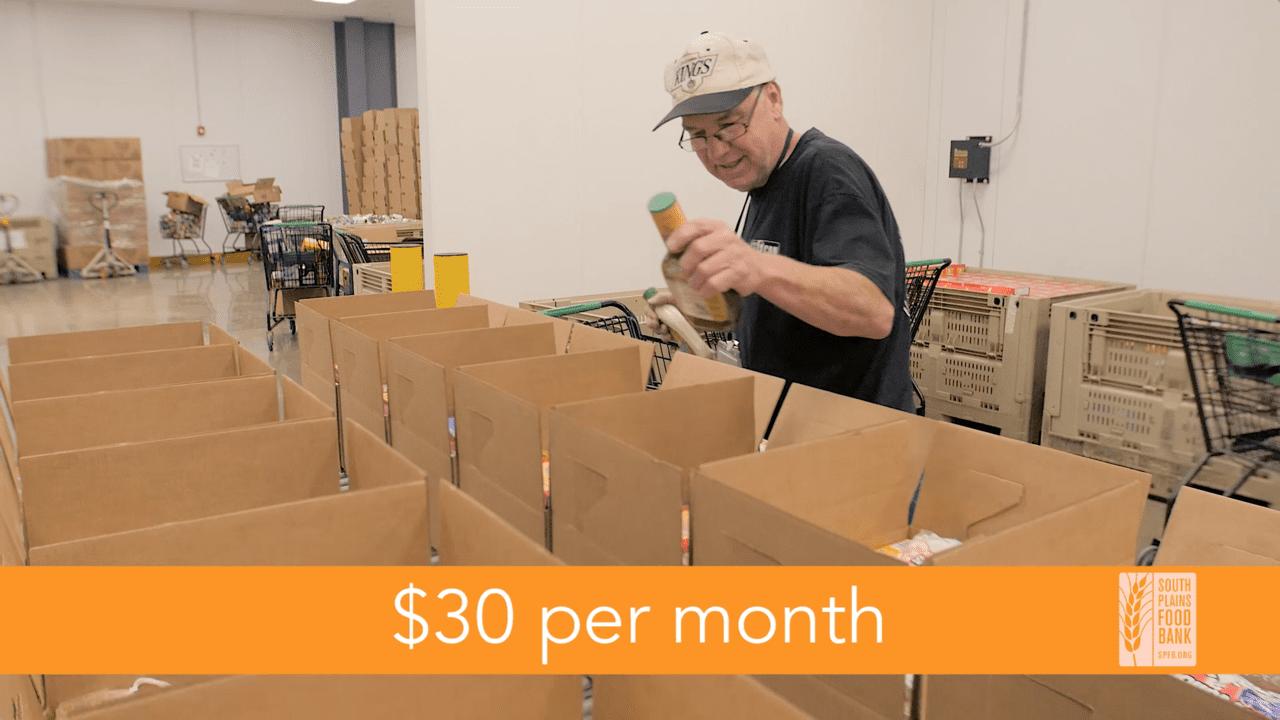 South Plains Food Bank Commercial - Thumbnail 02